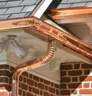 Copper Gutter Image