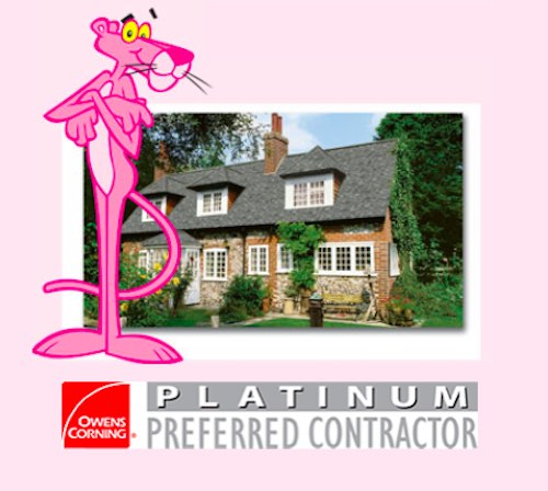 Gratuate Platinum Preferred roofer info graphic